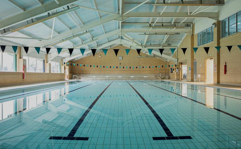 St Margaret's School sports centre swimming pool