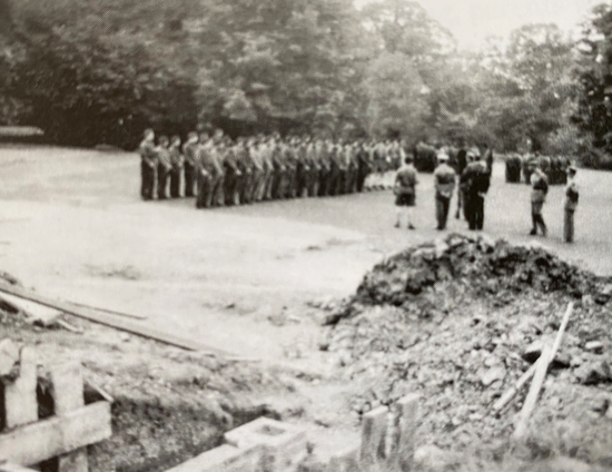 In 1939 St Margarets School was occupied by soldiers of the 4th (City of London) Yeomanry