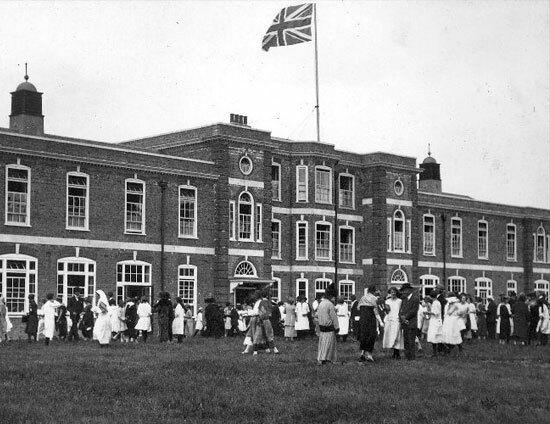 St Margarets School Opening of Junior School 1925