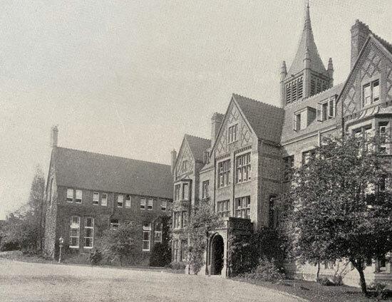 St Margarets School Waterhouse 1900