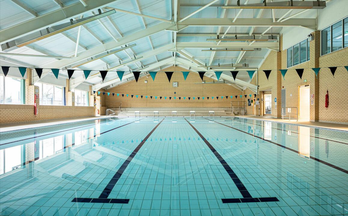 St Margarets School Bushey Swimming Pool in Sports Centre