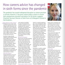 We are delighted to be featured in the September edition of The Independent Schools Magazine with a feature on Sixth Form and careers advice by our Director of Sixth Form, Miss Harrison. The full article can be read at https://bit.ly/3tECHPH #StMargaretsSixthForm #StMargaretsHertfordshire . . . #StMargaretsBushey #StMargaretsNursery #TheNursery #earlyeducation #nurseryschool #kindergarten #preschool #busheylife #busheymums #independentschool #schoollife #education #boardingschool #watford #stanmore #radlett #harrow #watfordmums #watfordlife #pinnermums #pinnerparents #preplife #prepschool #rickmansworthmums #stanmoremums #busheyheath #hertfordshiremums #stmargaretsherts