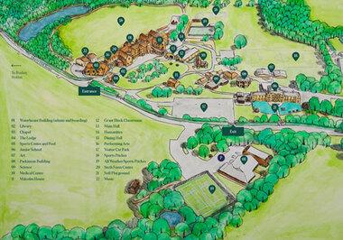 Campus Map Thumbnail